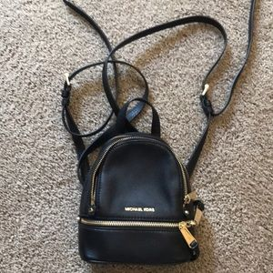 Michael Kors convertible mini backpack